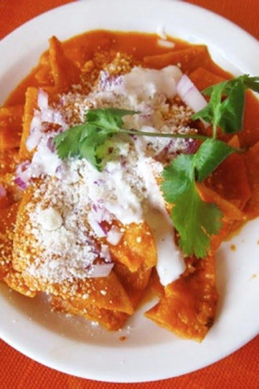 Чилакилес мексиканская кухня