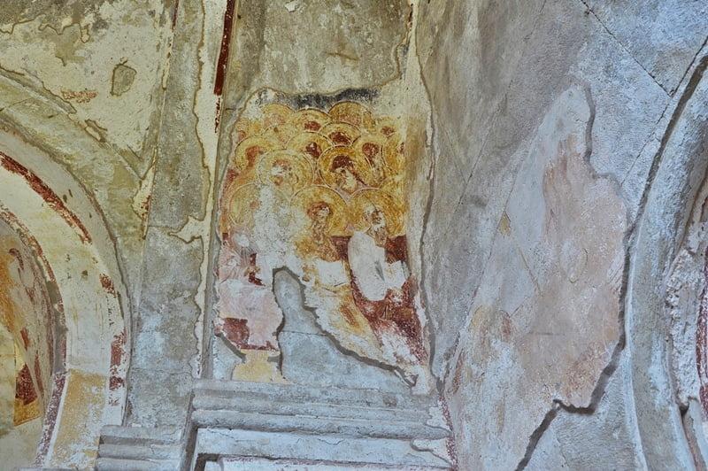 старинные фрески в Гелати