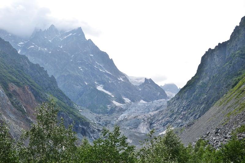 Ледник Чалаади в Грузии
