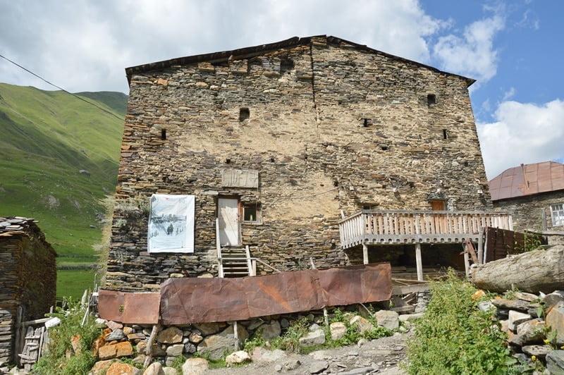 кино в Ушгули