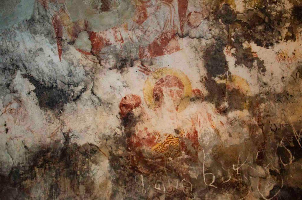 Фрески в соборе в Ушгули