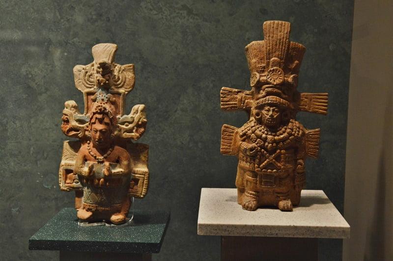 скульптуры майя