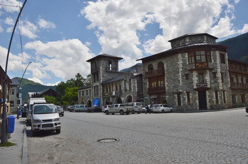 Центр города местия