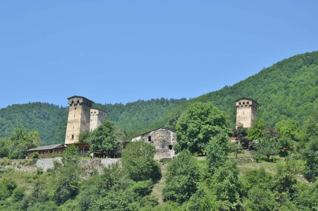 Башни в Сванетии