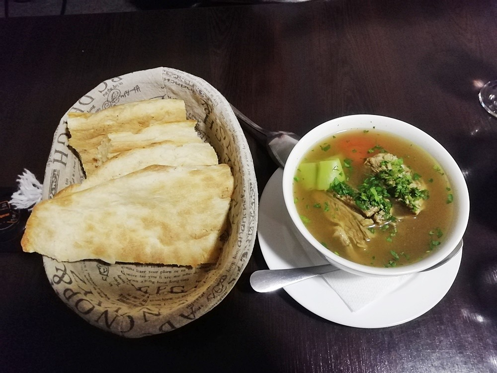 Грузинский суп татарияхни