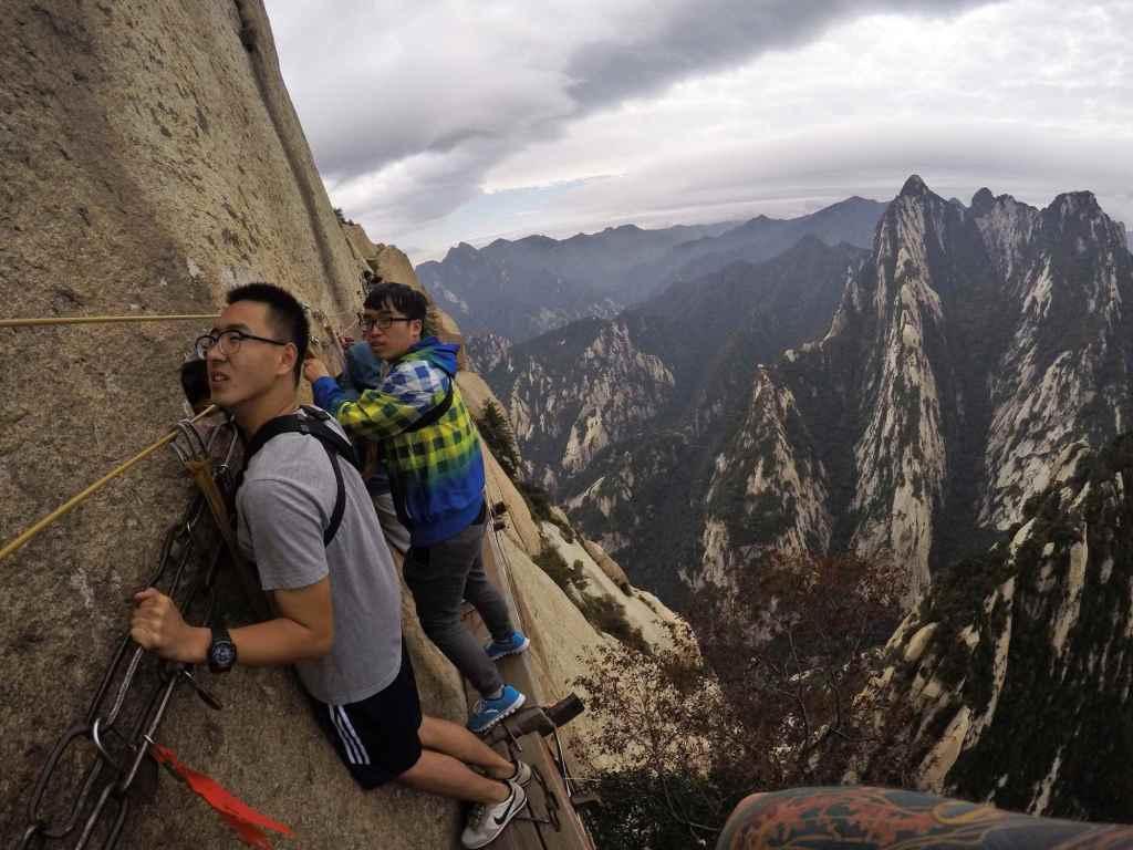 Китайцы на Sky Plank