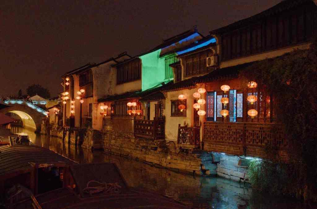 Красные китайские фонарики