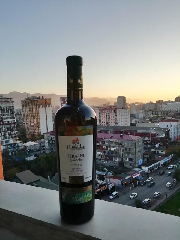 Грузинские вина Тибаани