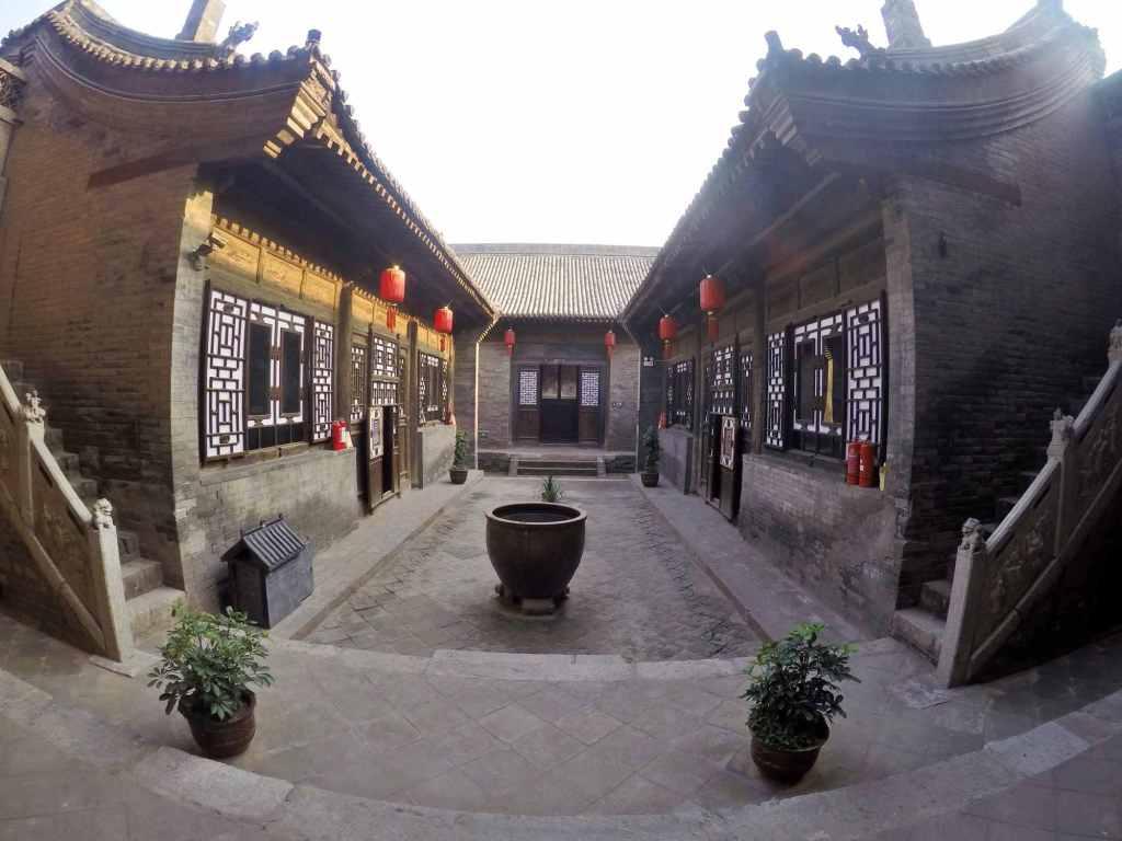 Дворик в китайском стиле