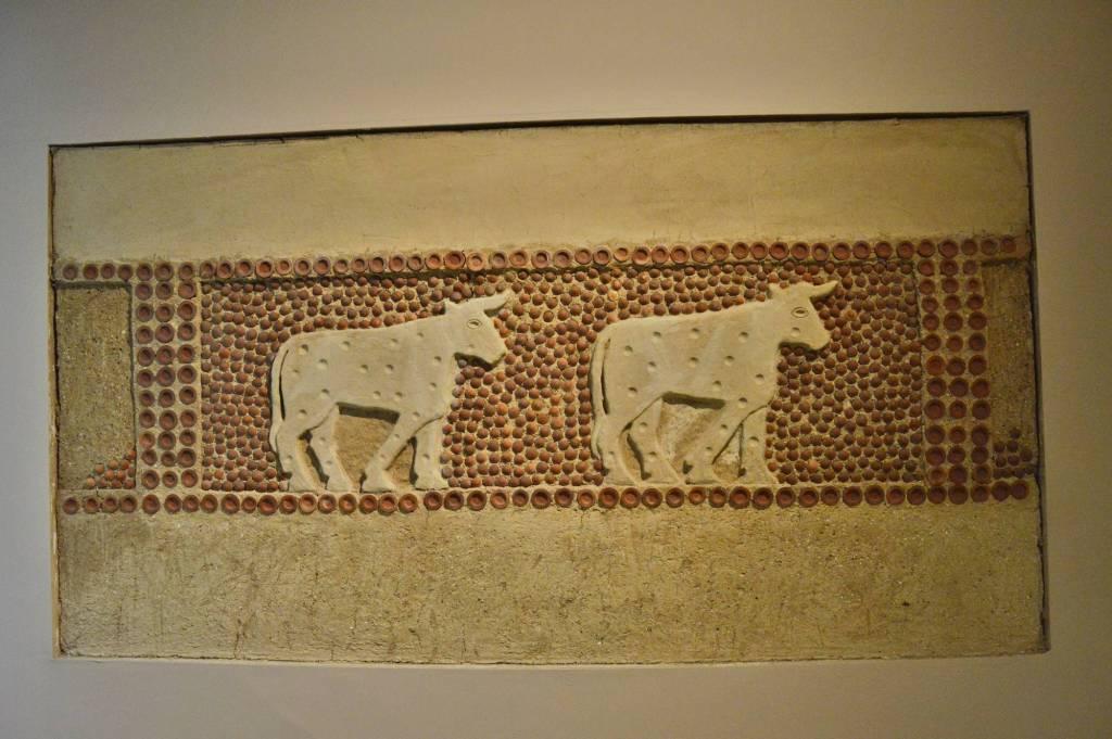 Мозаика из Шумера