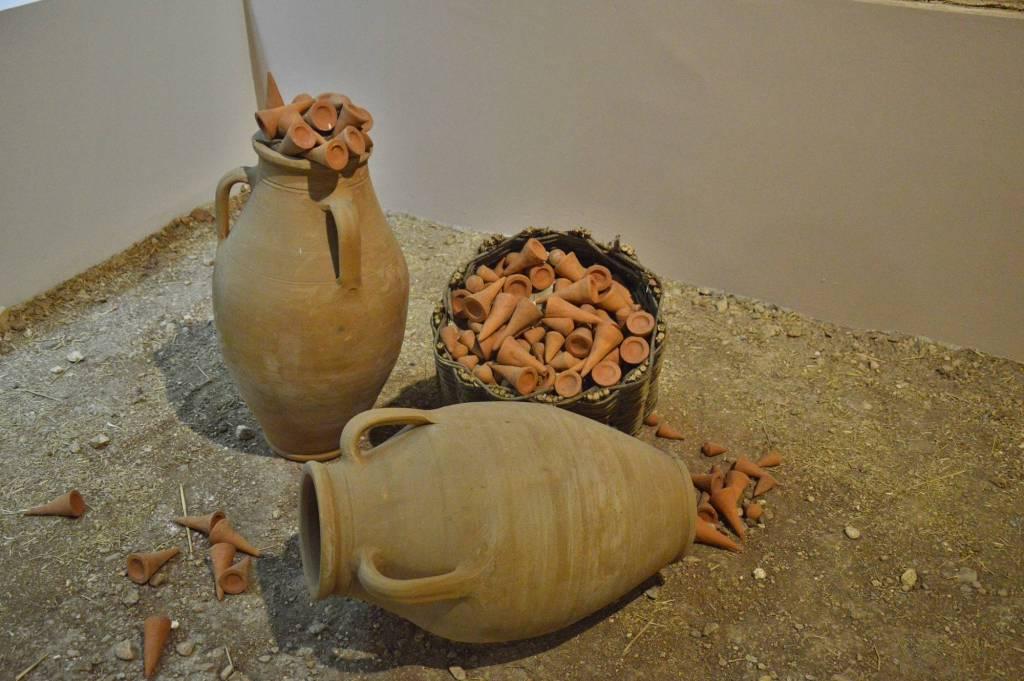 Экспонат - музей археологии в Шанлыурфе