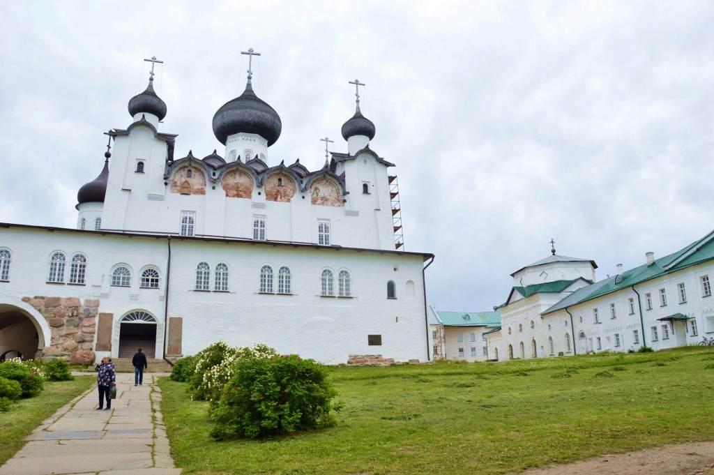 Церковь на севере России