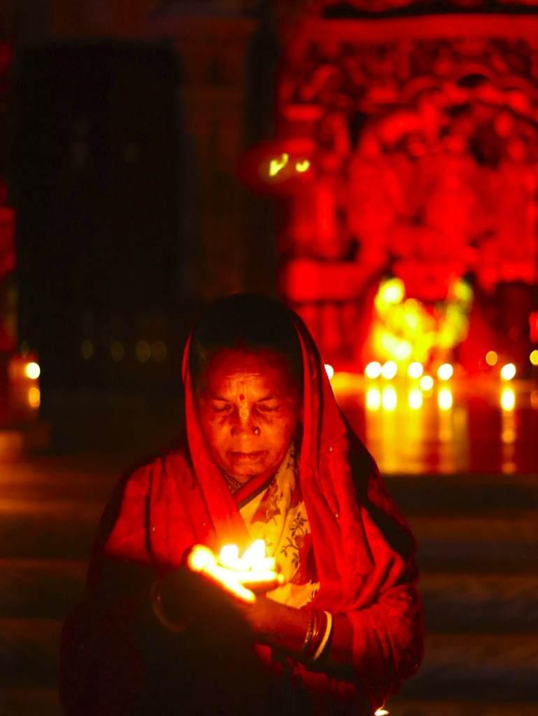 Молитва буддиста