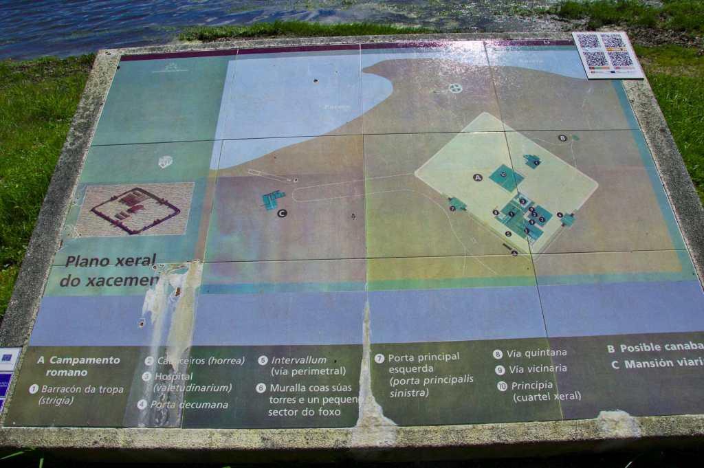 План археологических раскопок