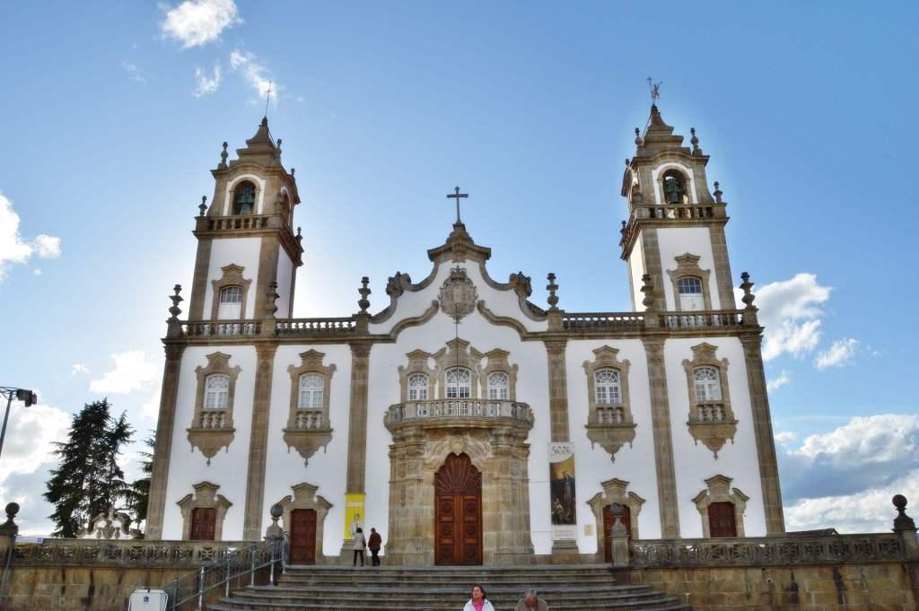 Католический храм в стиле рококо