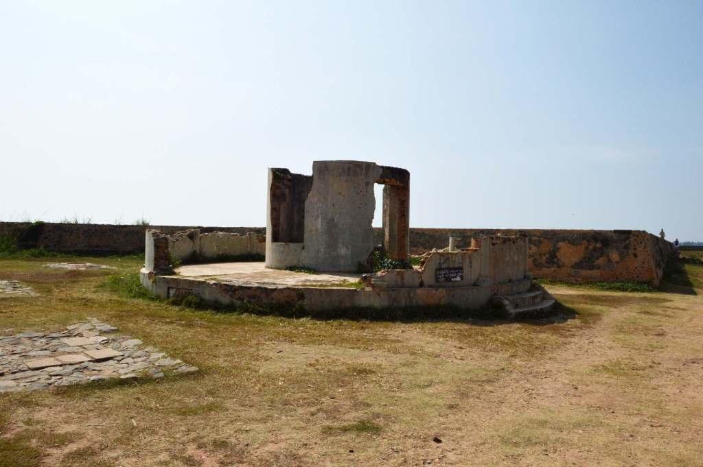 Площадка для артиллерии