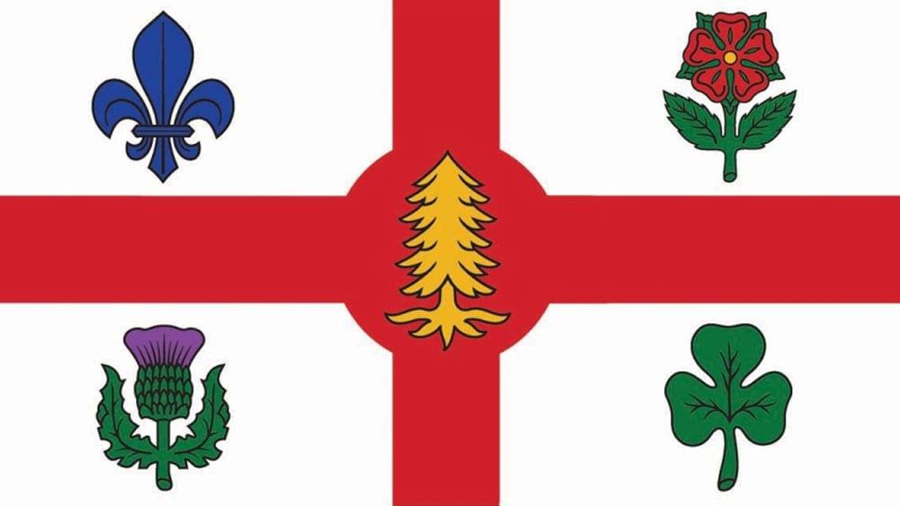 Флаг Монреаль