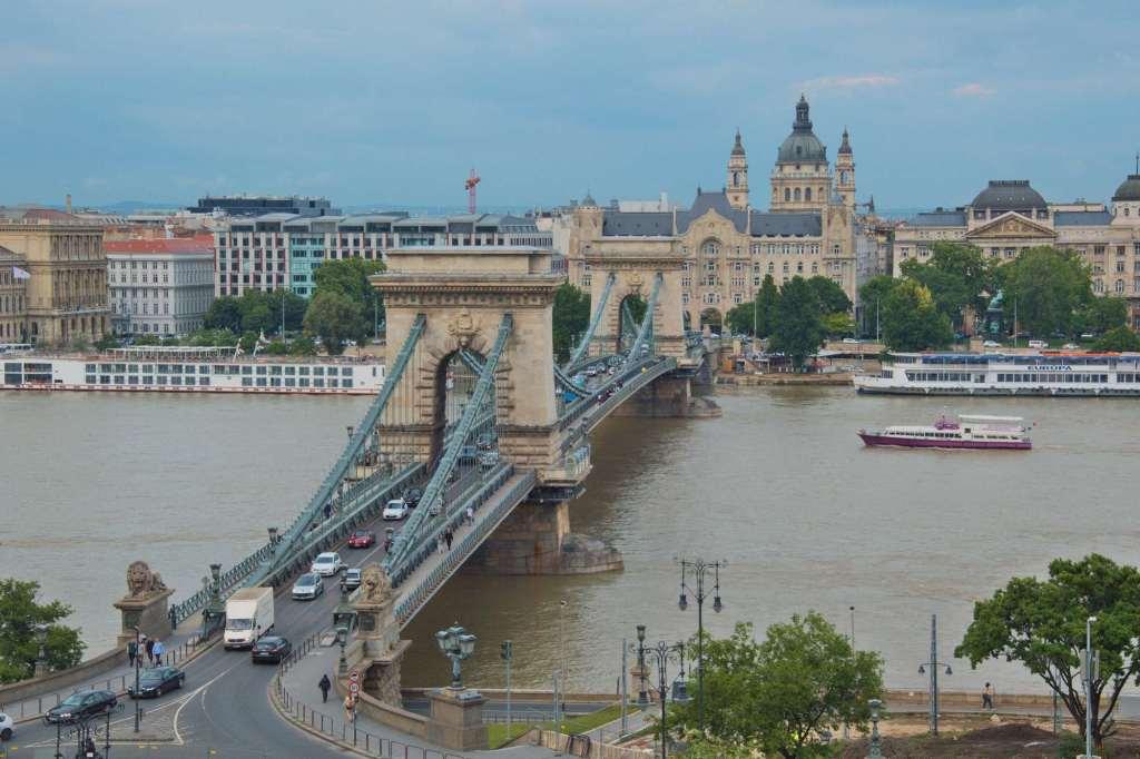 Цепной мост Будапешт