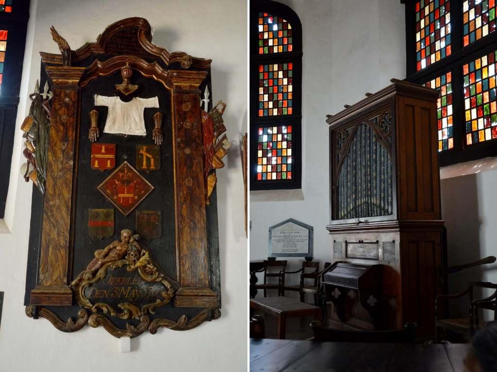 Украшение в церкви Галле