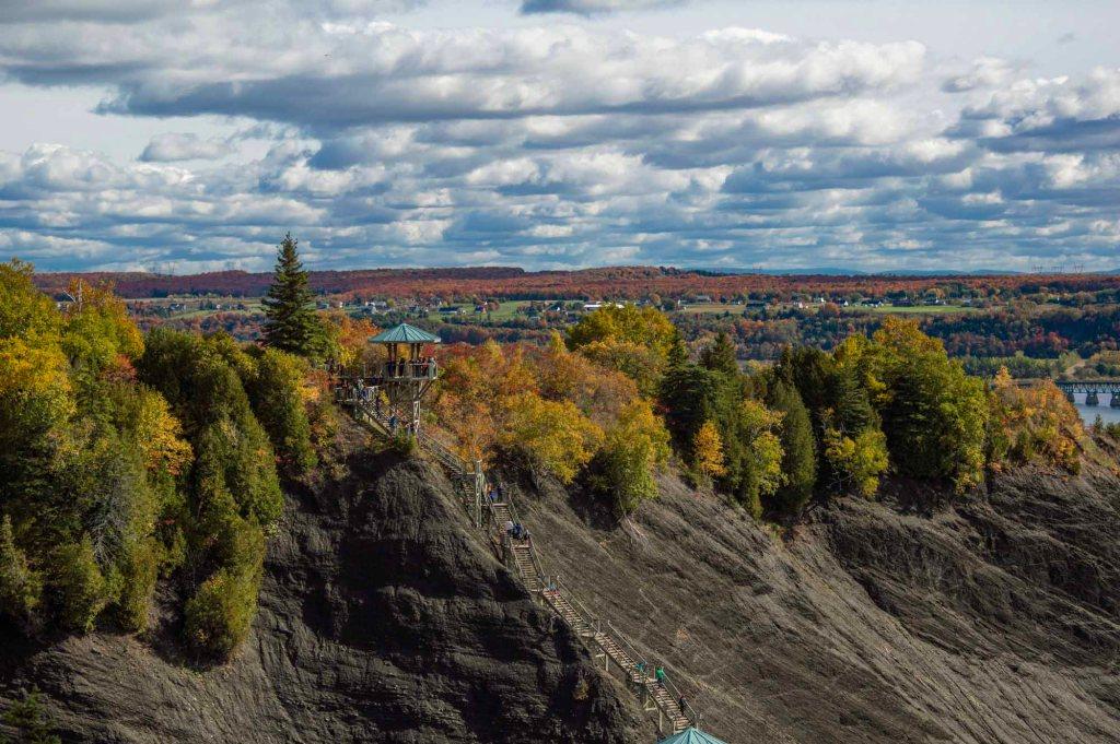 Водопад Монморанси - беседка