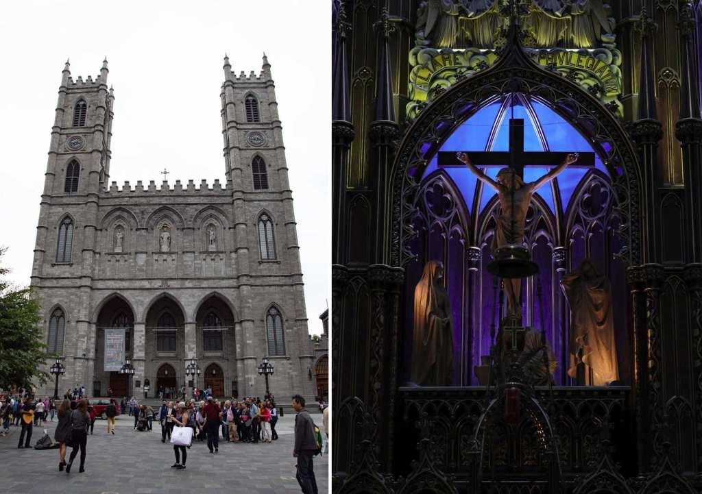 Церковь - Старый Монреаль