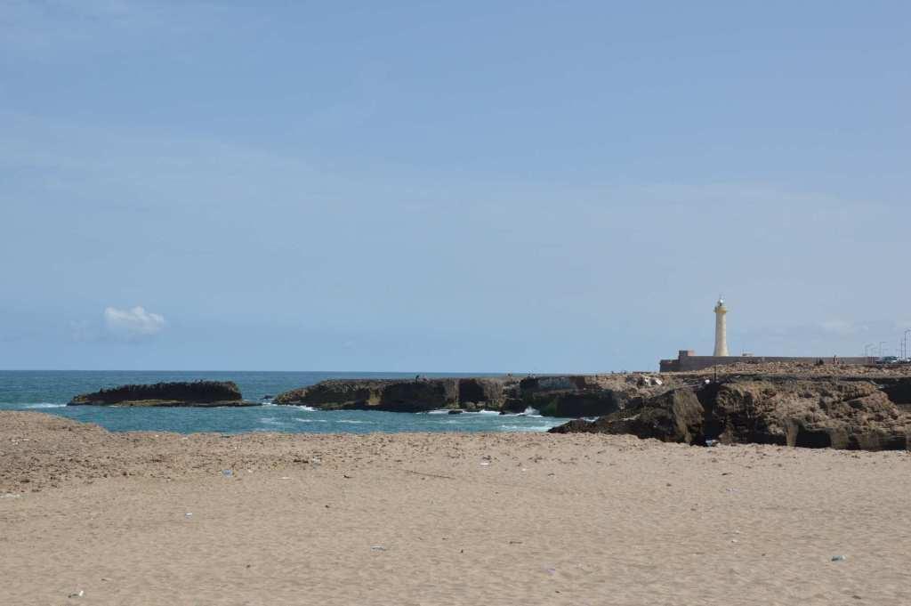 Рабат - побережье Атлантического океана