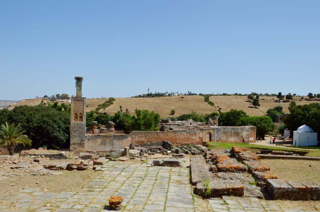 Мусульманский храм в руинах