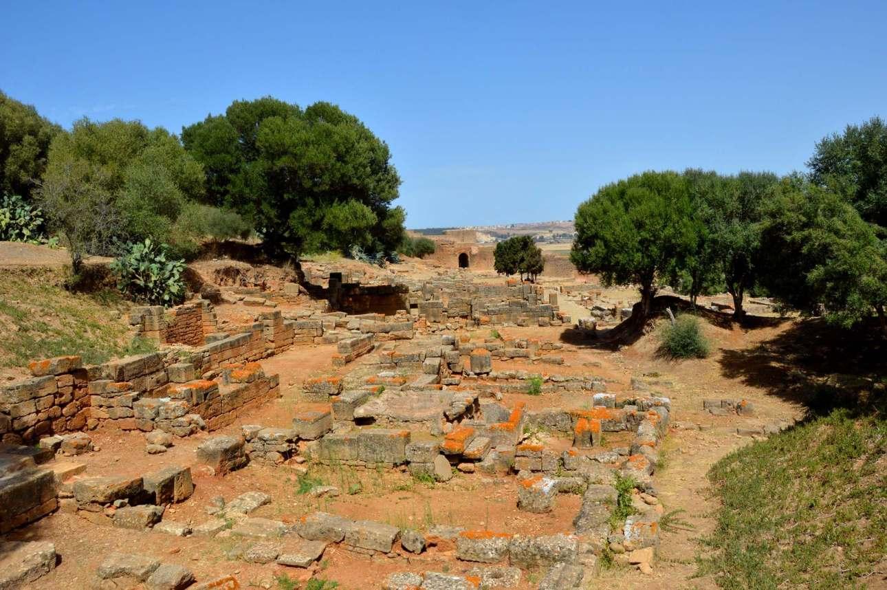 Руины римского города - Рабат