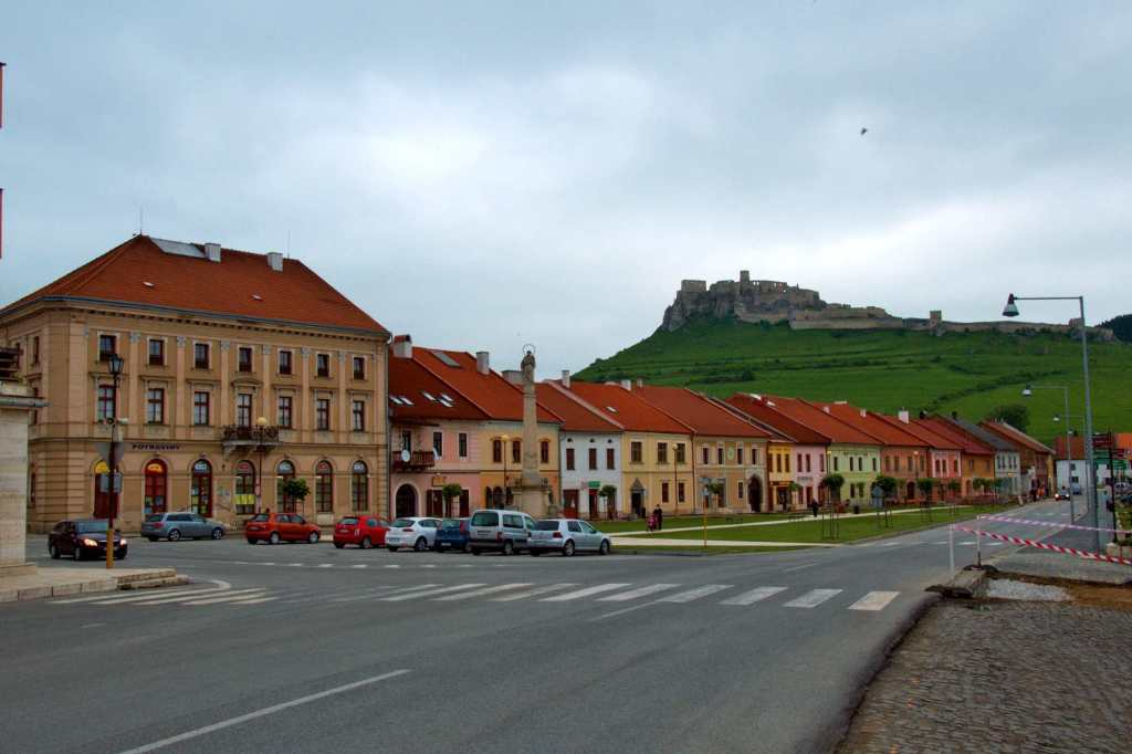 Спишске-Подградье и крепость