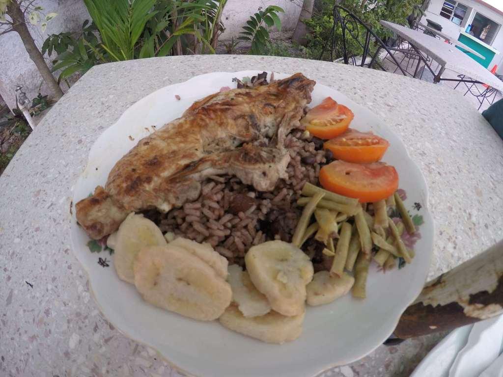 Мясо с рисом - кубинская кухня