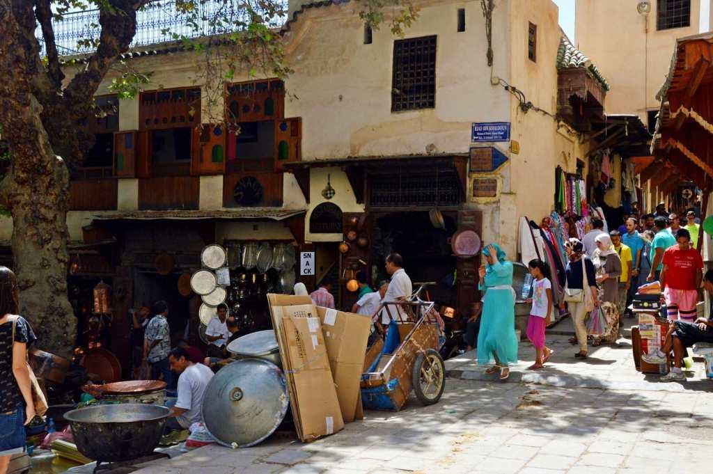 Обычный день в центре Марокко