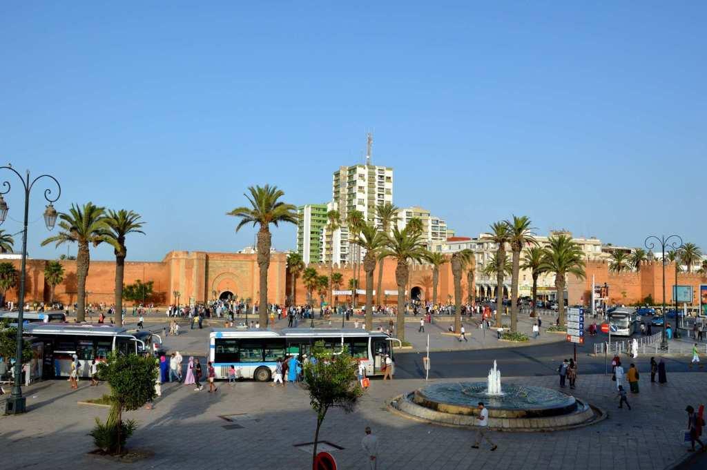 Город Рабат - автовокзал