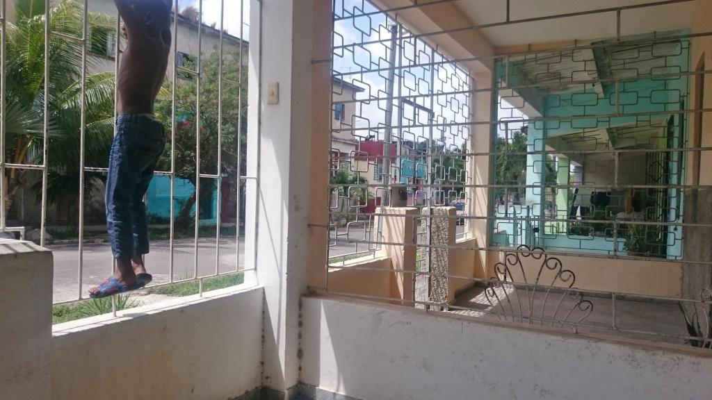 Решетки на окнах в Гаване