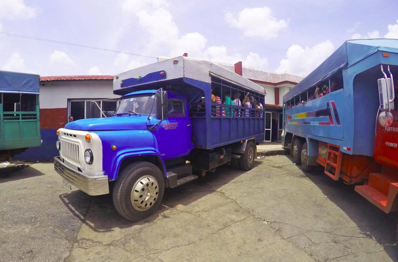 Общественный транспорт Куба