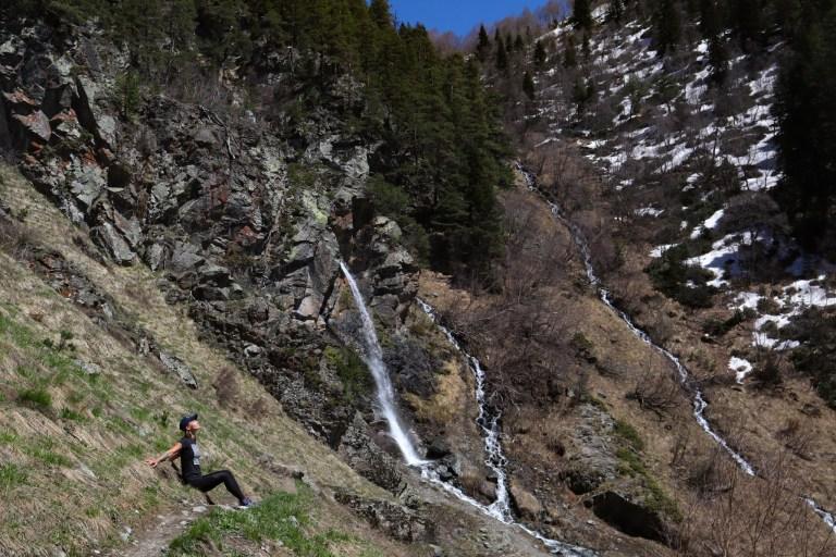 Баритовый водопад - фото