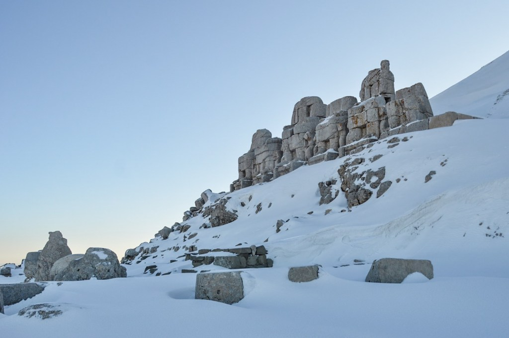Святилище Немрут в Турции