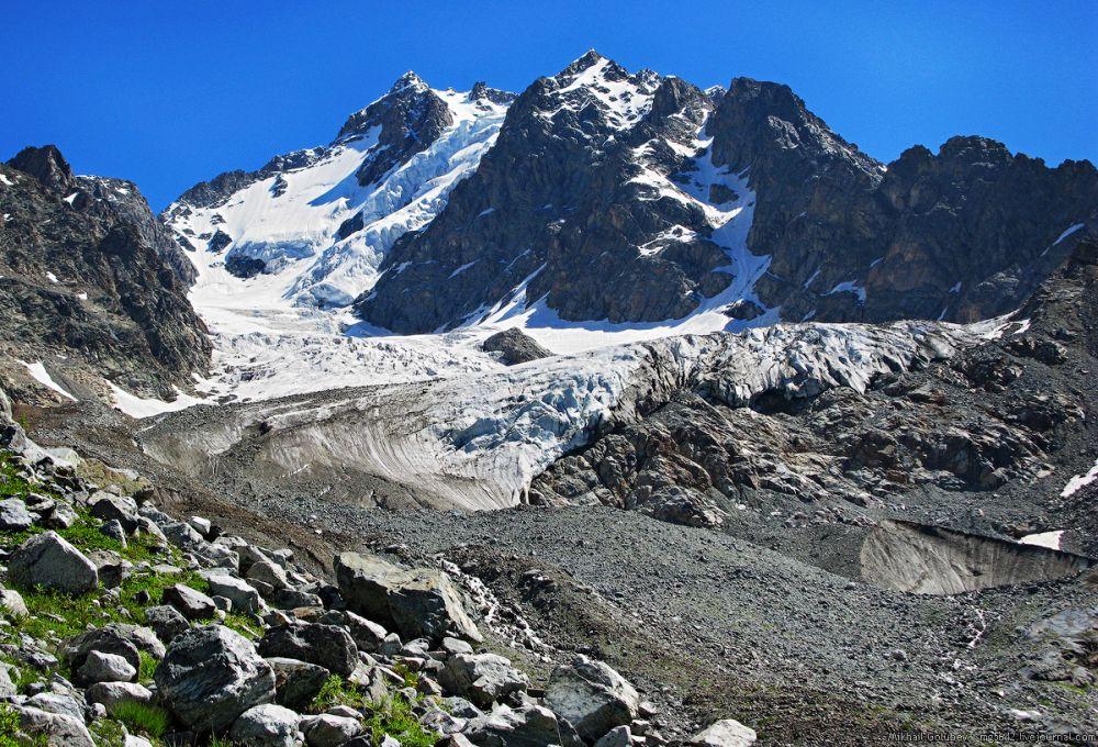 ледник буба рача — поход по грузии
