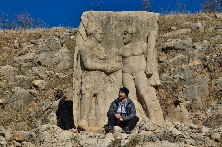 Арсамея на Нимфеях — статуя