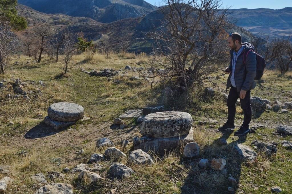 руины античного города в турции