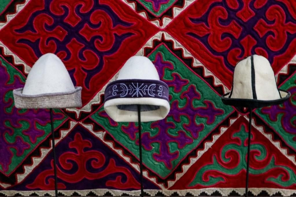 киргизские шапки