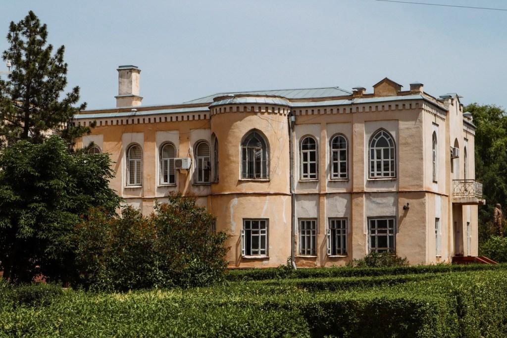 Старинное здание Бишкек