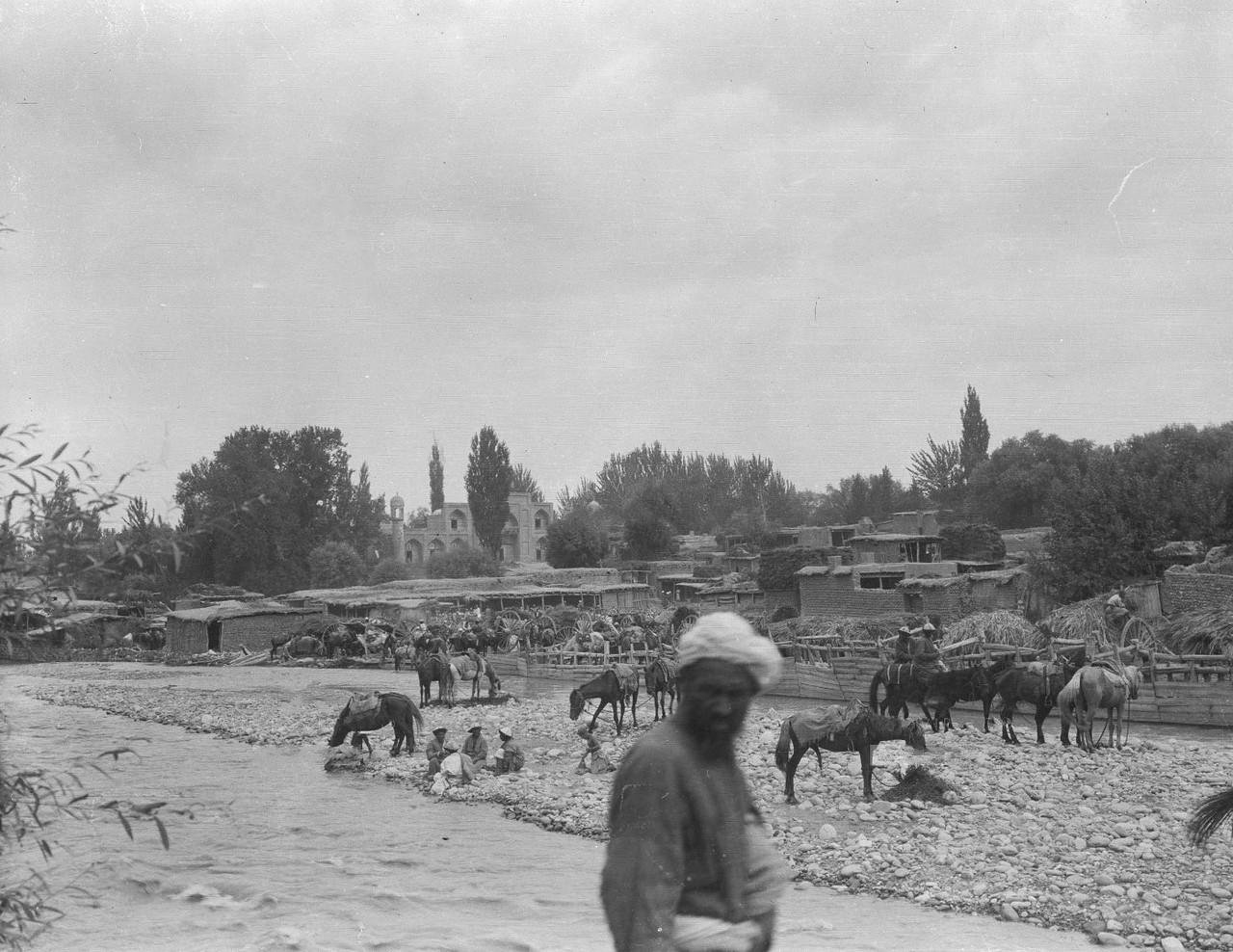 Архивна фотография города Ош