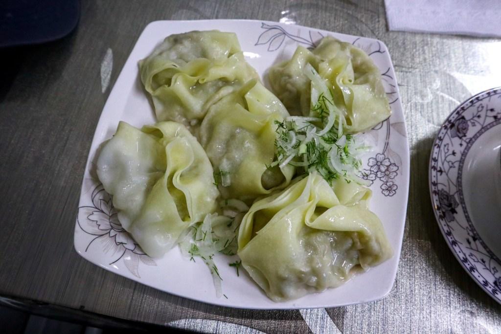 рестораны в Оше где готовят манты