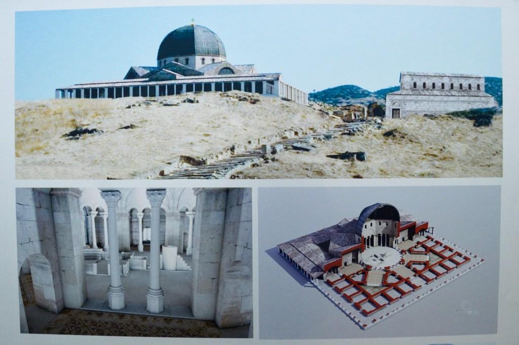План церкви апостола Филиппа в Памуккале