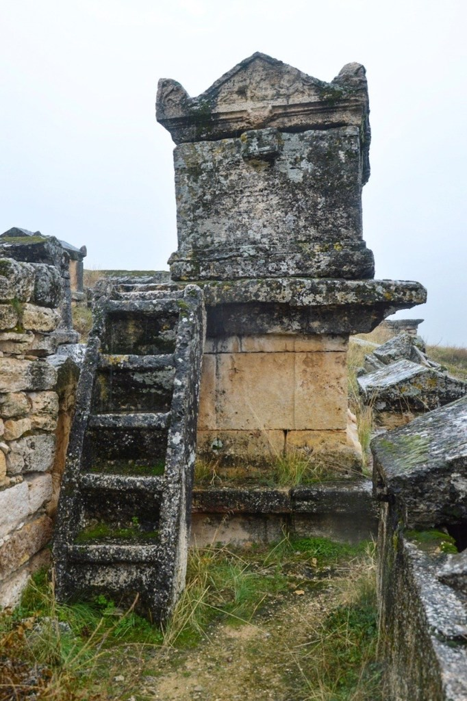 Лестница к могиле