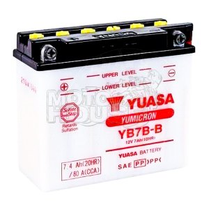 Bateria Para Motocicleta Yuasa Yb7b-b