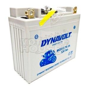 Bateria De Gel Para Motocicleta Dynavolt 12-7a-3a