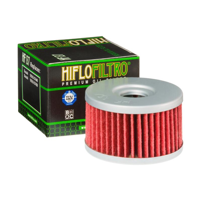 Filtro De Aceite P/motocicleta Hiflo Hf137 / Hf-137