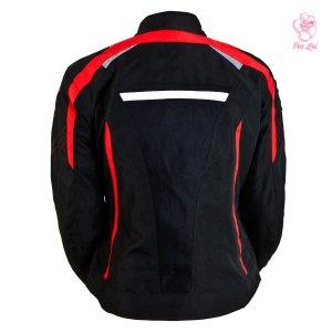 Chamarra De Motociclismo Para Dama Tuono Mod. Brescia Rojo