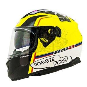 Casco Integral Ls2 Ff320 Stream Evo Doggie Dog